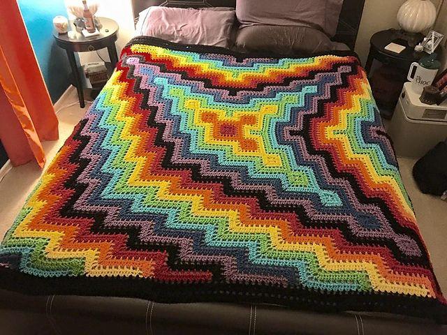 DIY Crochet Blanket Pattern for Beginners – Free Pattern