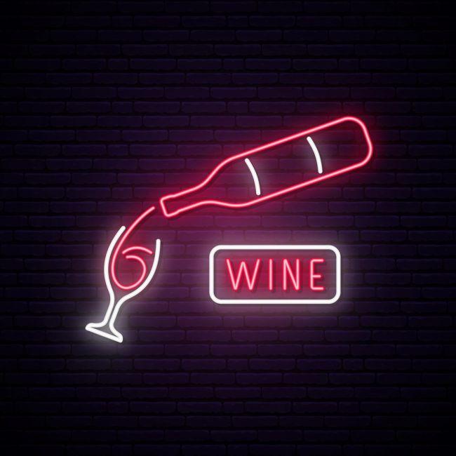 Wine Bar Led Neon Sign Neon Signs Neon Art Neon