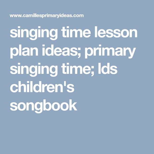 Lds Childrens Songbook Pdf