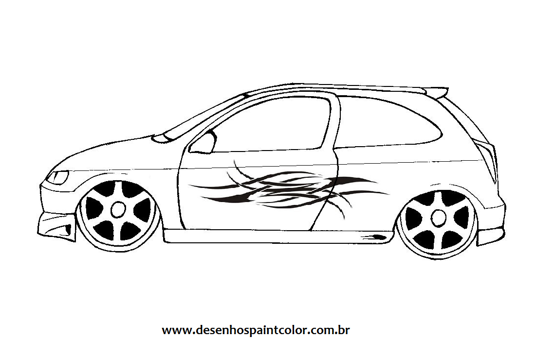 Desenhar Lindos Desenhos De Carros Para Colorir Desenhos De