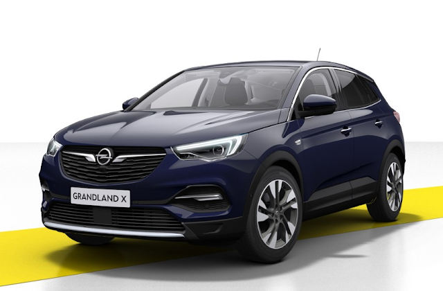 Opel Grandland X 2018 Couleurs Colors Opel Motor Car Car Lease