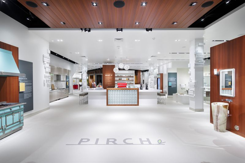 A R E Association For Retail Environments Pirch Glendale Galleria Los Angeles Ca This