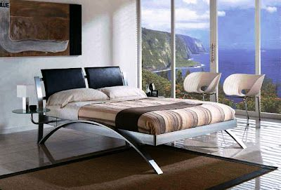 The bed determines the style of your bedroom, if the bed is usually, then the whole bedroom will look usually.