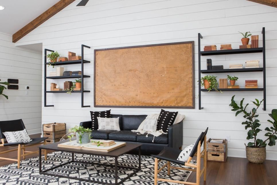 Fixer Upper\u0027s Best Living Room Designs and Ideas