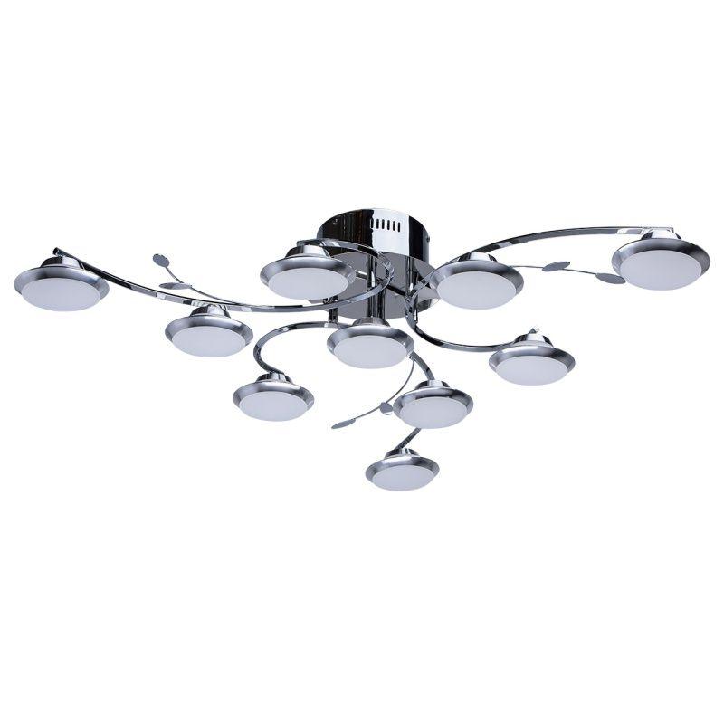Moderne 10-flammige LED Deckenleuchte MW-Light 308010910 Moderne