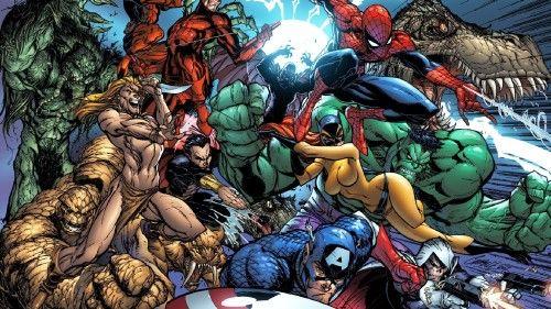 Marvel Comics Hd Desktop Wallpaper Avengers Painting Marvel Wallpaper Marvel Wallpaper Hd