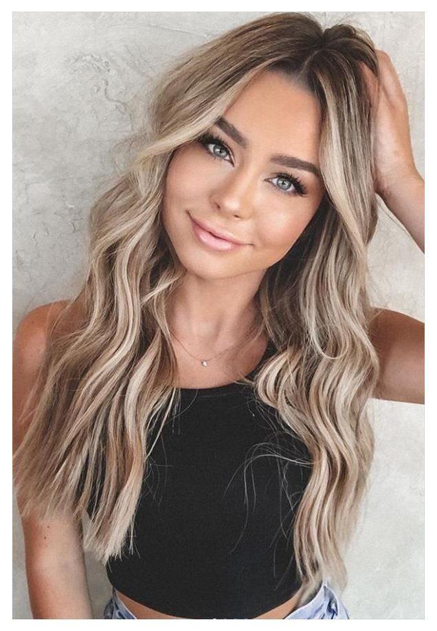 blonde hair color ideas for brunettes