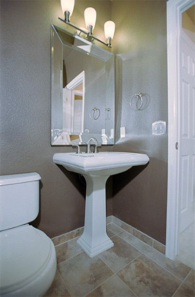 Powder Rooms Ideas | Simple Powder Room Design Ideas