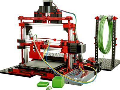 3D printer from Fischertechnik 3d drucker