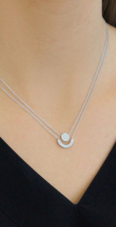 2 In 1 We Merged Together Two Best Selling Styles To Make Layering Necklaces Even Easier Fancy Necklace Jewelry Necklace