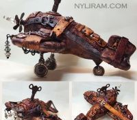 Steampunk Airplane (by Marilyn Morrison)