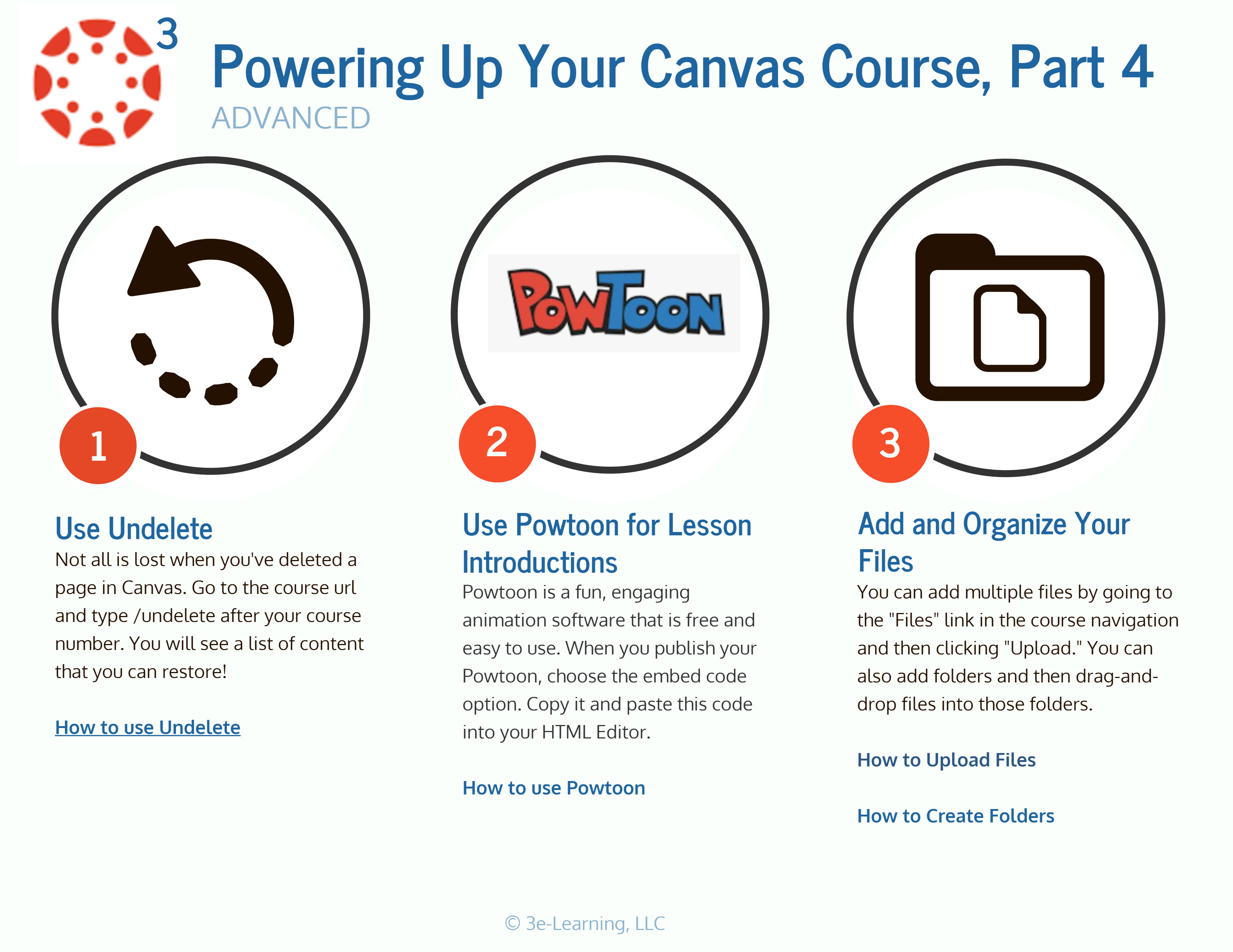Take your Canvas LMS usage up a notch with these Advanced