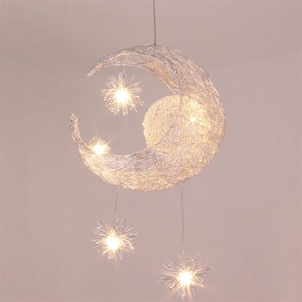 Moon Star Featured Pendant Light 5 Lights Living Room Lighting Ceiling Nursery