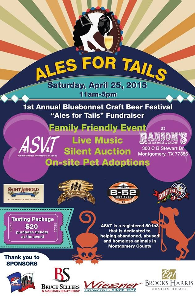 This Is Our Big Spring Fundraiser If You Live In The Conroe Montgomery Area Come Out And Join The Animal Rescue