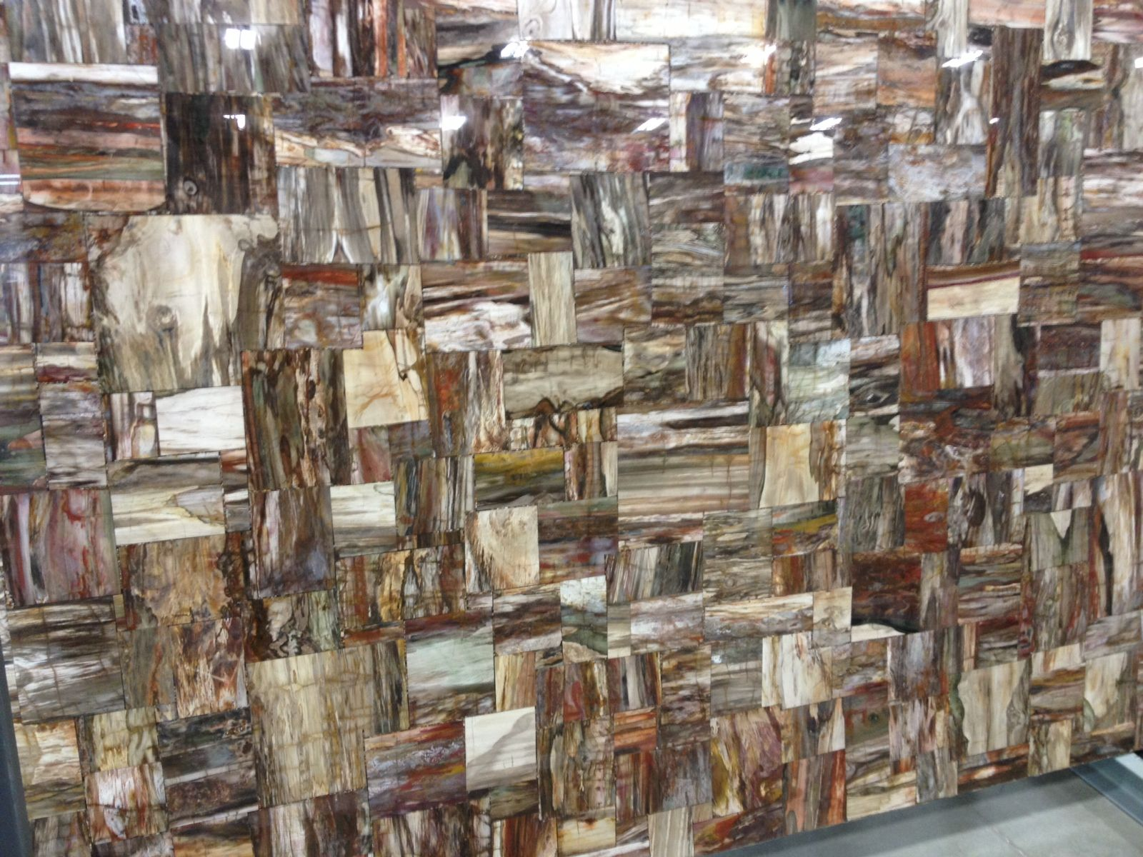 Countertop Slab Of Petrified Wood By Cosentino Prexury
