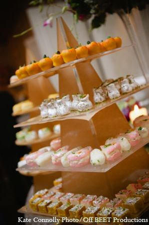 Indian Wedding Reception Desserts In Rockleigh New Jersey By Kate Connolly Photography