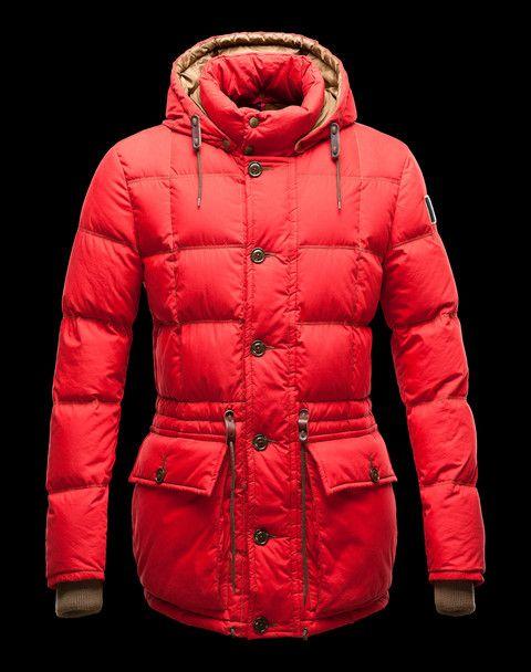 Doudoune Moncler Montserrat Homme Rouge Jackets Pinterest