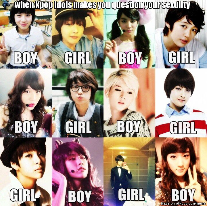 Rather Then Questioning Sexuality That Brings People To Question Gender Roles More Kpop Memes Funny Kpop Memes Memes