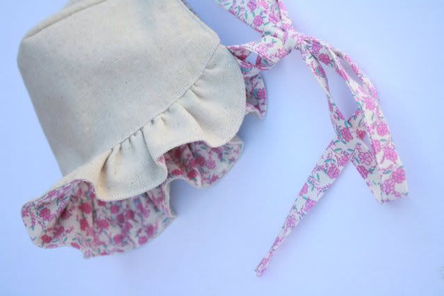 Handmade Finds Vintage Baby Make Me Baby Bonnet