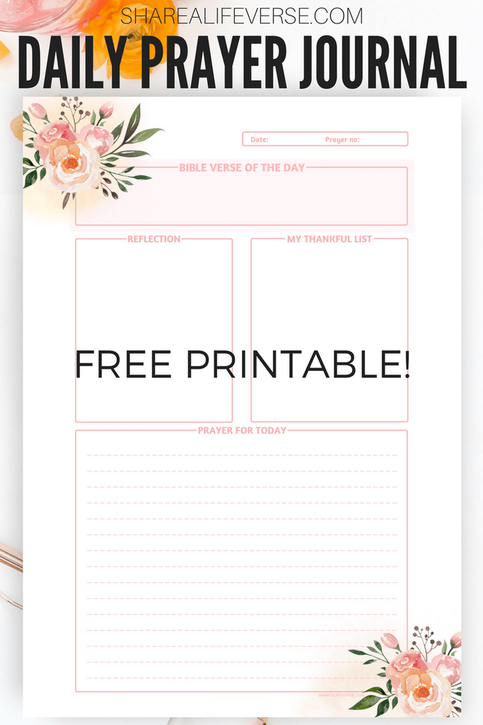 photograph regarding Printable Prayer Journals called Absolutely free Every day Prayer Magazine Printable Web site printables