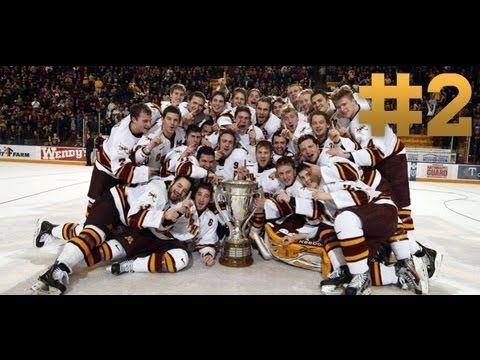 2 Nate Schmidt S Sweet Move 2011 12 Gopher Hockey Top Ten Moments Hockey Favorite Team Hockey Season