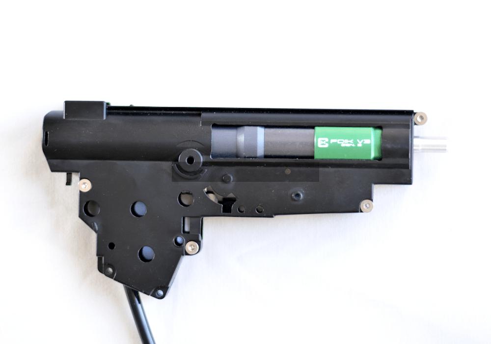 KWA KMP9 Gas Blowback Airsoft GBB Submachine Gun SMG Railed NS2 Dark Earth