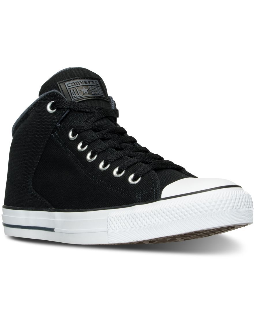 bed43eba322c Converse Men s Chuck Taylor All Star Hi Street Shield Cvs Casual Sneakers  from Finish Line