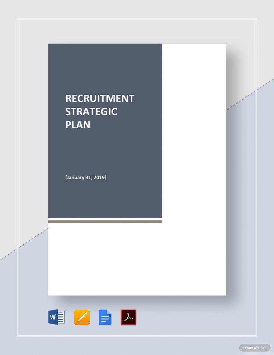 Recruitment Strategic Plan Template Free Pdf Google Docs Word Apple Pages Pdf Template Net Strategic Planning Recruitment How To Plan Microsoft word strategic plan template