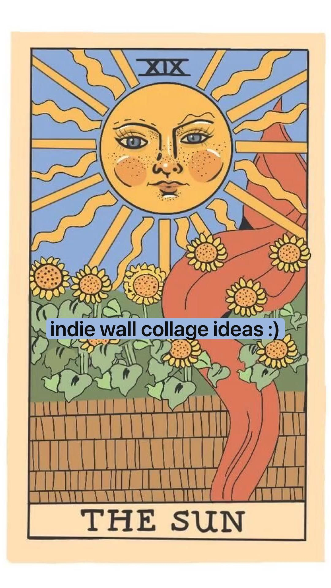 indie wall collage ideas :)