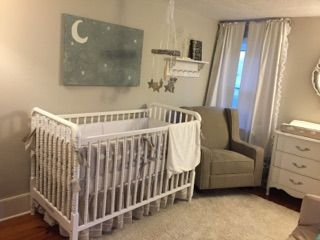Hailee Tay Gender Neutral Nursery Reveal Moon And Stars Theme