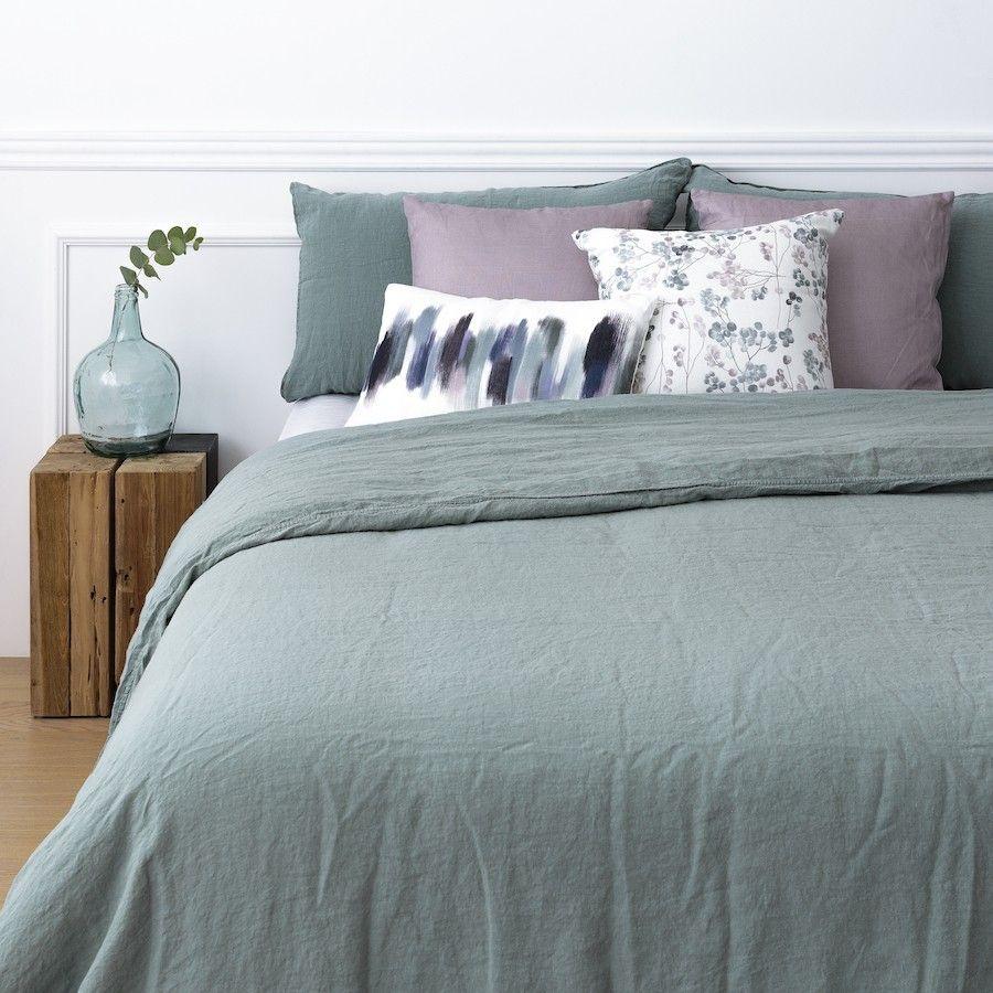 Lille colcha verde en 2020   Dormitorios, Decoración de unas
