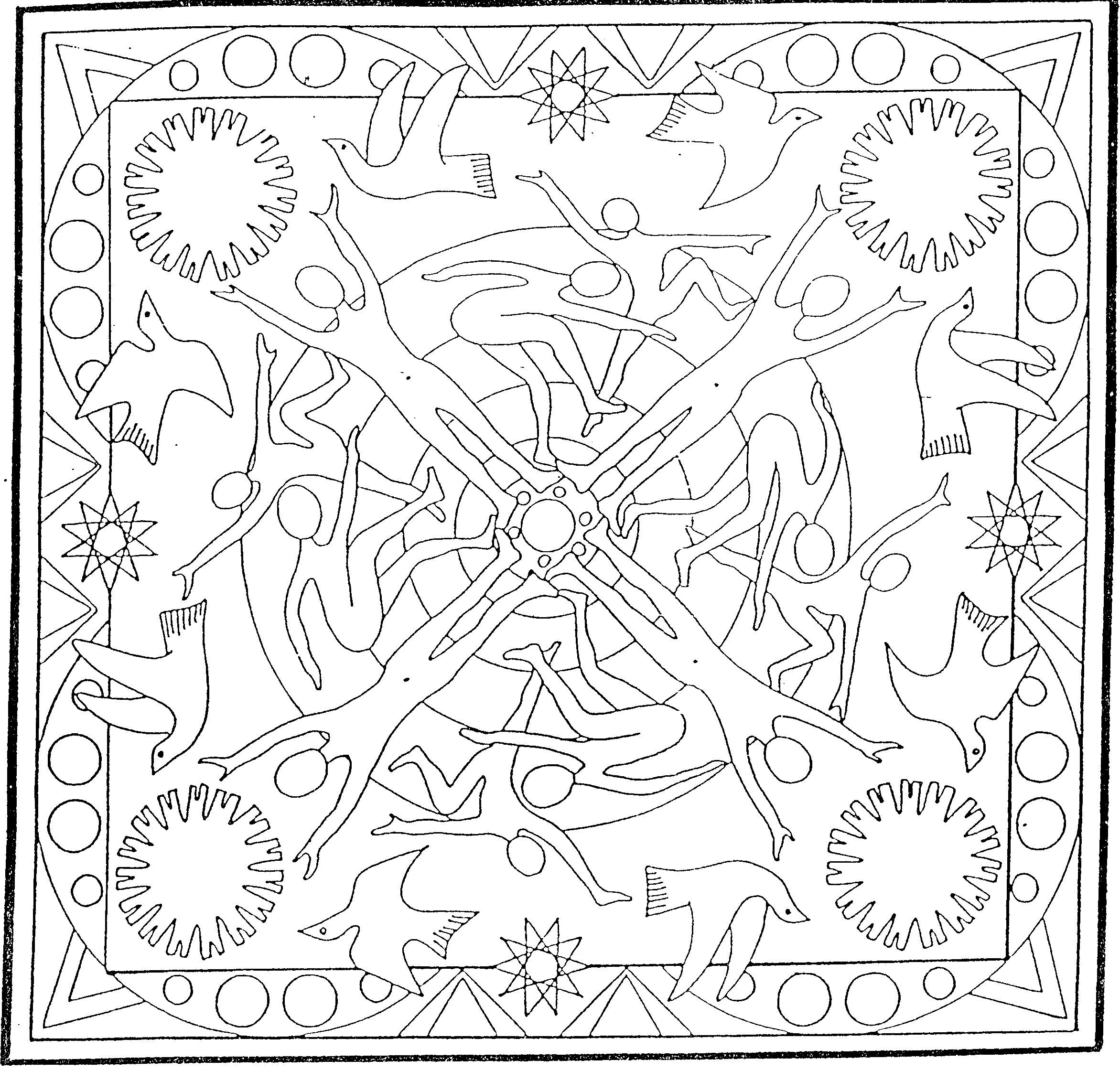 Coloriage Mandala Geant.Pin By Anne David On Coloriage Coloriage Mandala A