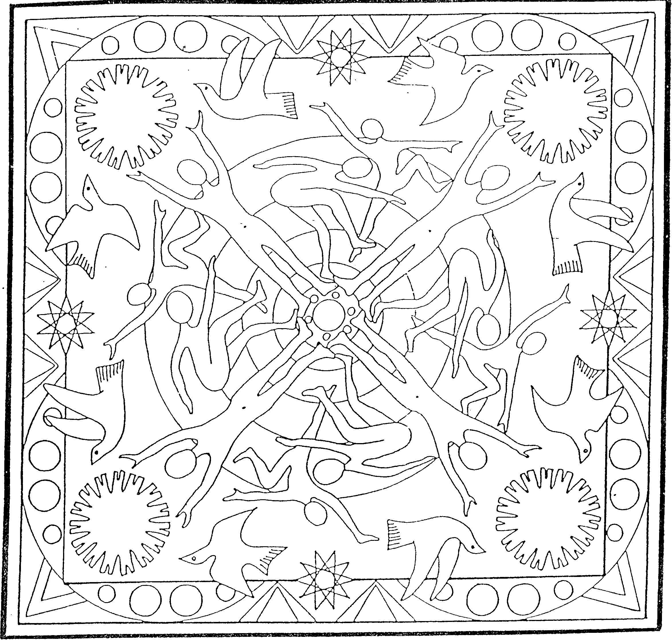 Mandalas a colorier Mandala 02