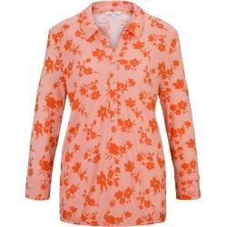 Photo of Tom Tailor Damen gemustertes T-shirt, orange, gemustert, Gr.M Tom TailorTom Tailor