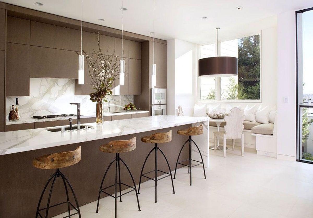 Elegant minimalist kitchen ideas modern interior idea pinterest