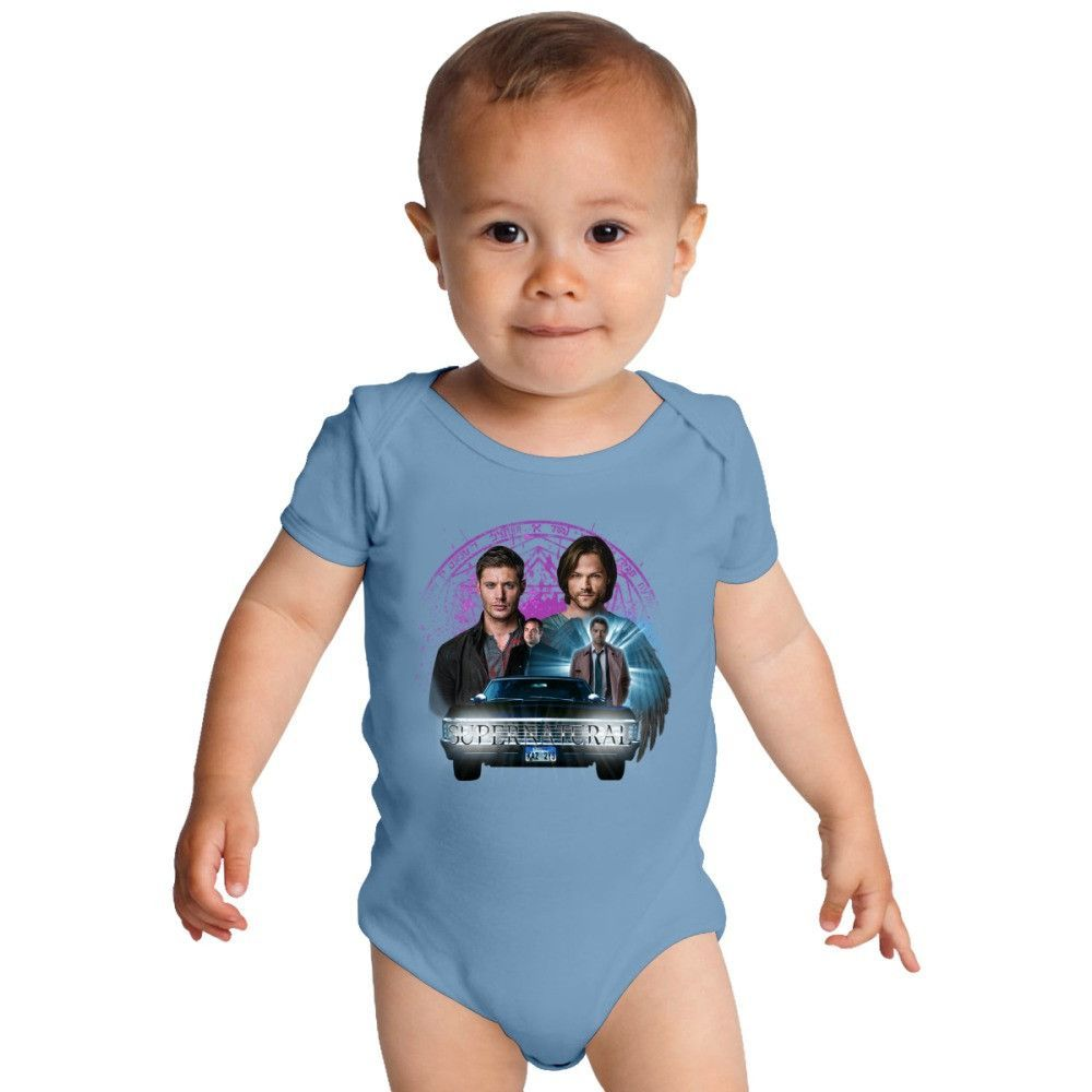 Supernatural The Roads Journey Baby Onesies