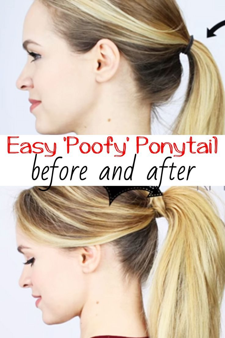 Tip a better and sassier ponytail in less than minutes ponytail