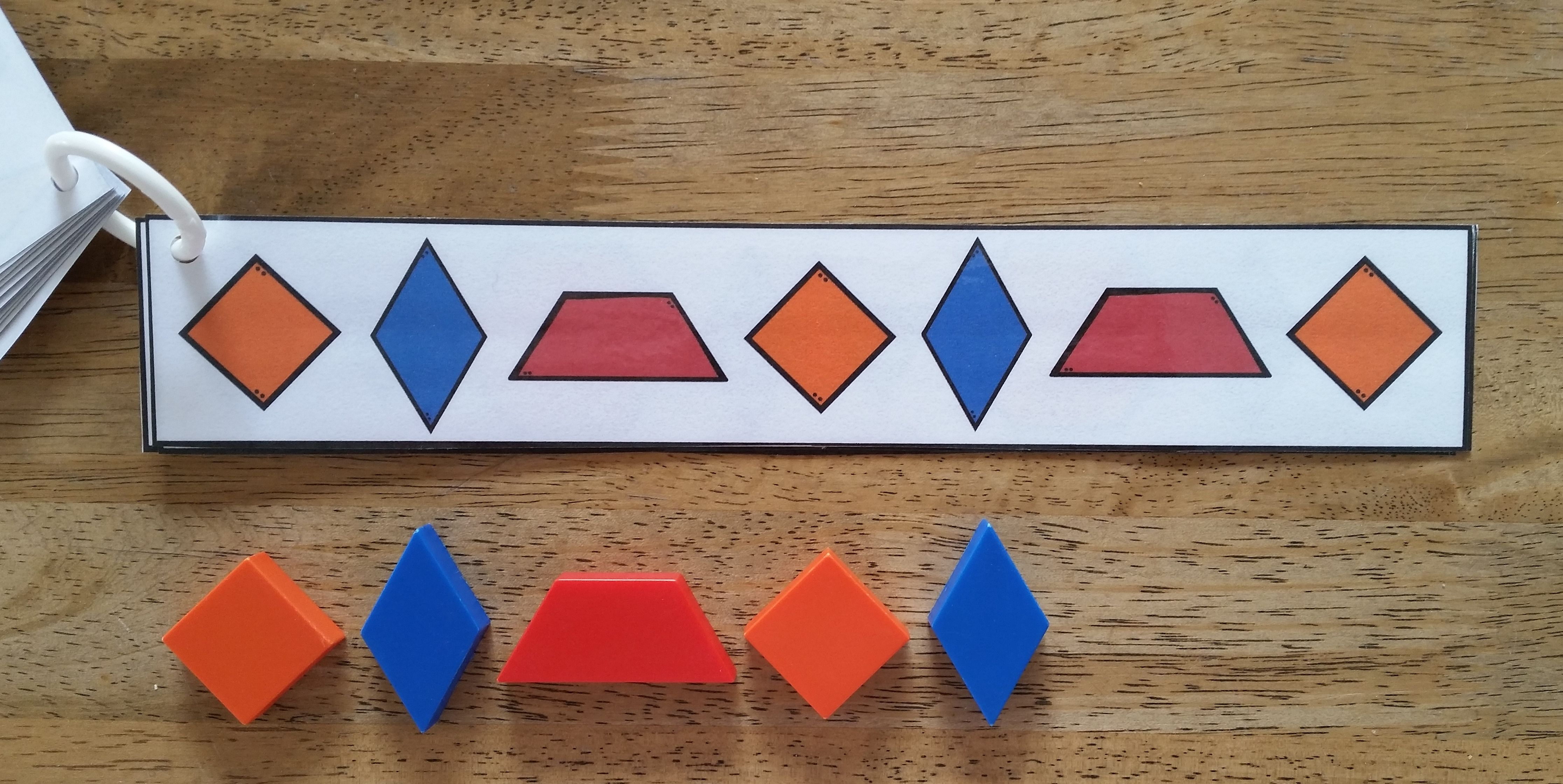 Copy Amp Continue Pattern Block Cards Hands On Patterning