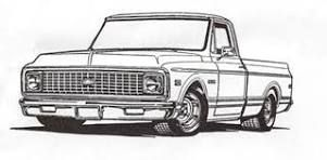 13+ Old chevy truck clipart ideas