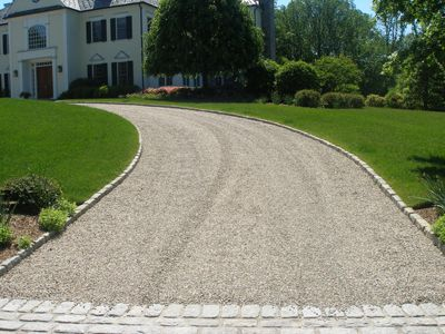 Grasso Construction Driveway Landscaping Stone Driveway