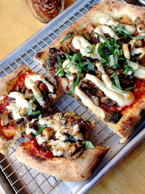 Brick Oven Grilled Veggie Pizza + A Smashed Potato Pizza ...