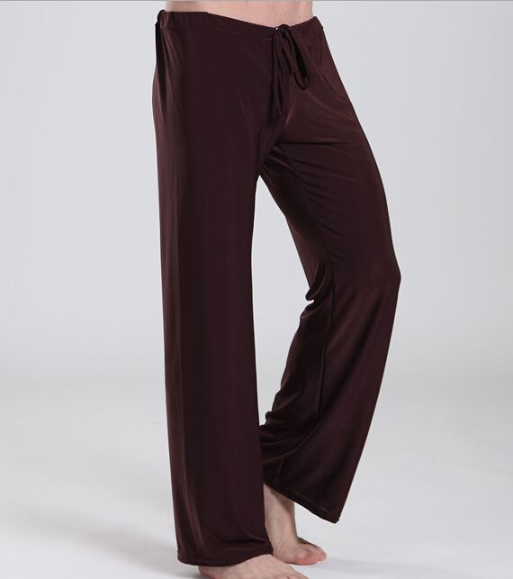 Pas cher Haute qualité marque pantalons 1 pcs lote Yoga pantalons   hommes  pantalon de pyjama salon décontracté pyjama de nuit sous vêtements, Acheter  Large ... 1f30a01d756b