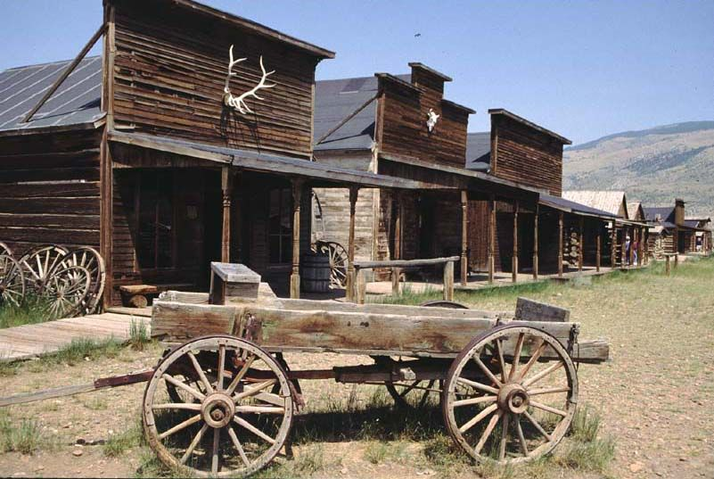 NEW MEXICO: ghost town