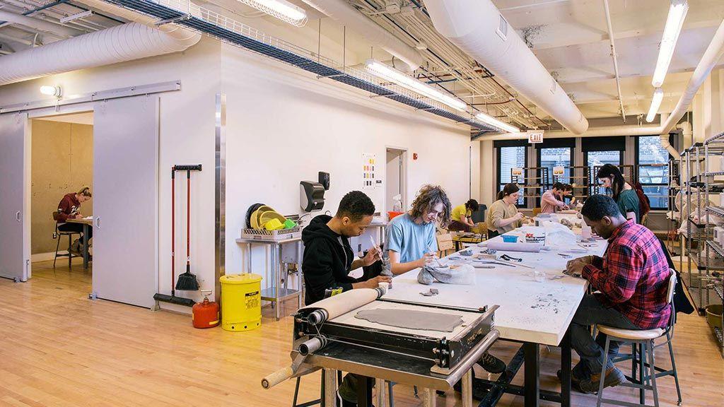 Columbia college chicago art design school chicago il - Interior design firms chicago ...