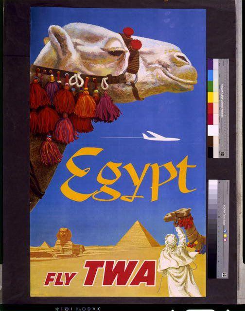 Así sí dan ganas de irse a Egipto #TWA