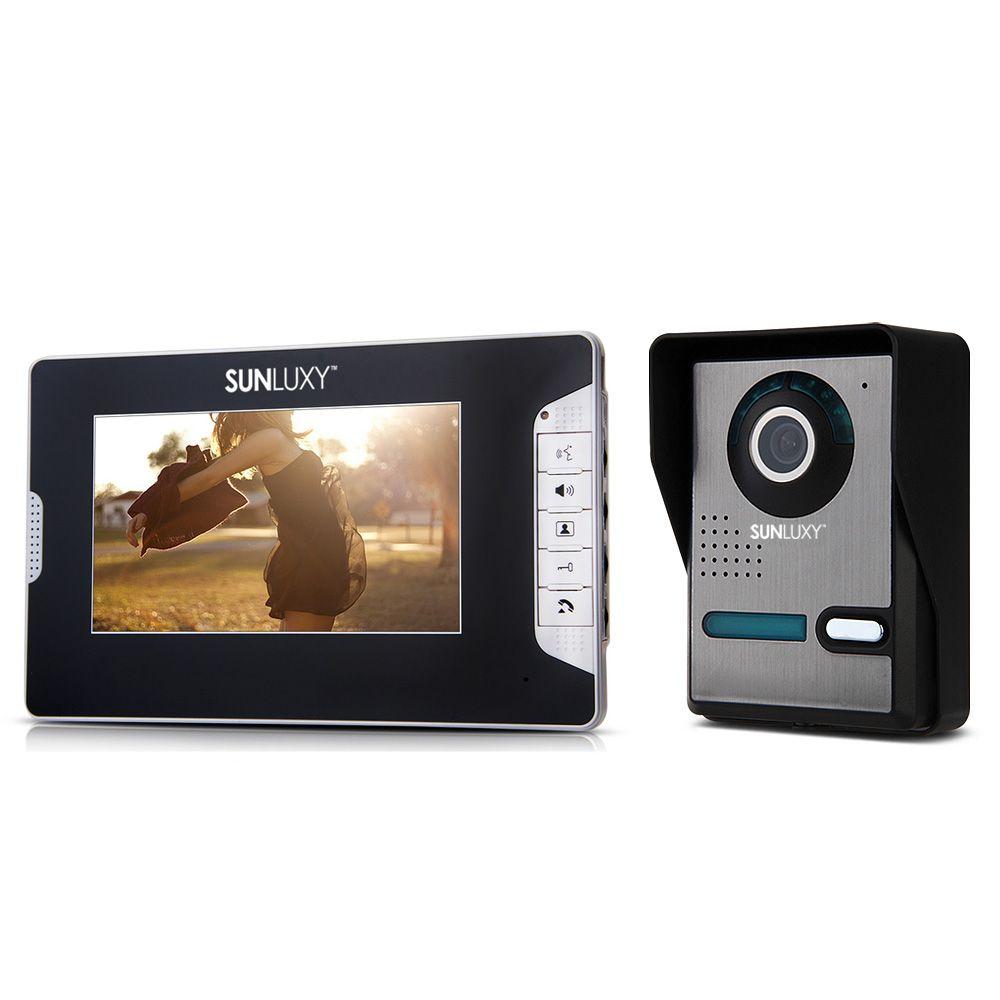 Sunluxy 7 Tft Lcd Video Türsprechanlage Intercom Türklingel Ir