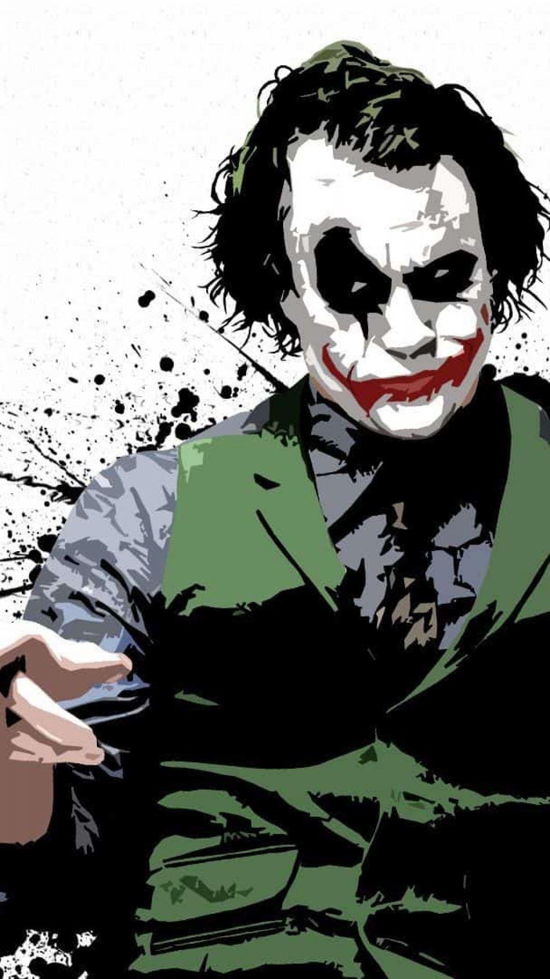 1080x1920 Batman Joker Wallpaper Hd โจ กเกอร โปสเตอร ภาพ อเวนเจอร