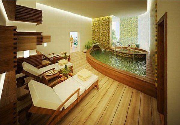 Spa Bathtub Bathroom Design Luxury Spa Bathroom Design