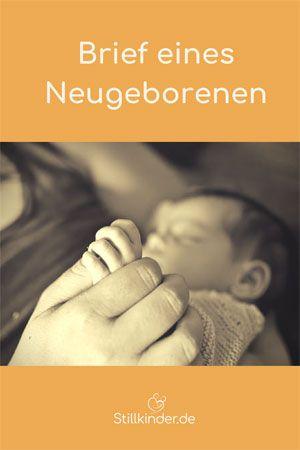 Brief An Neugeborenes Kind