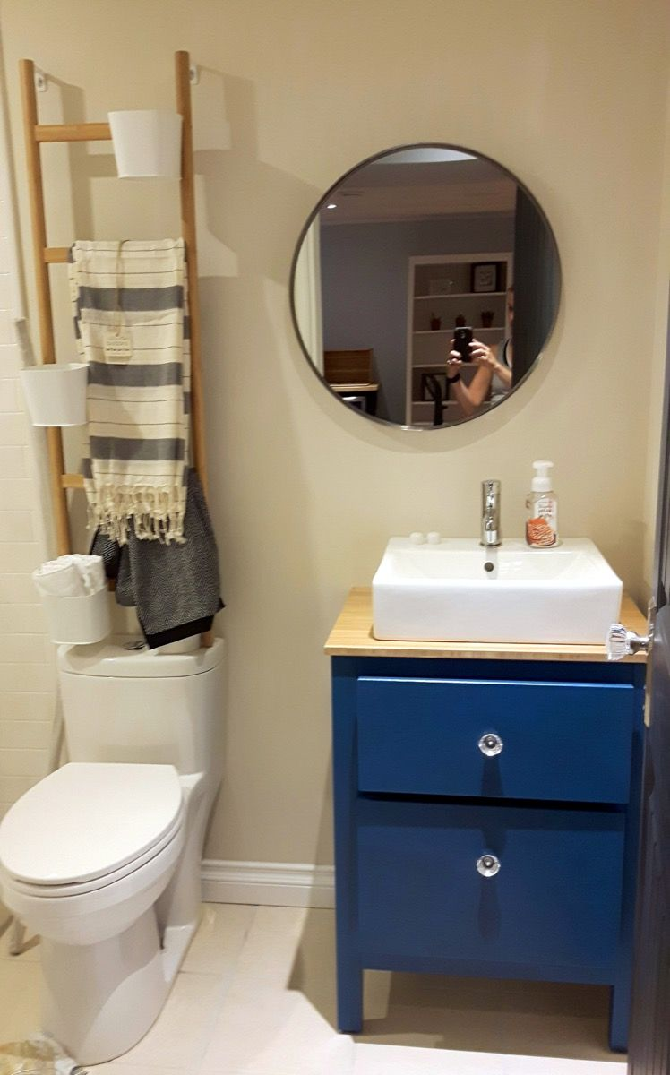 My customized hemnes small bathroom vanity ikea hacks - Vanities for small bathrooms ikea ...